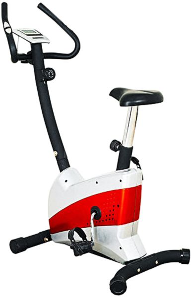 cf28098f78d82 Life Power Magnetic Exercise Bike 606 - Silver