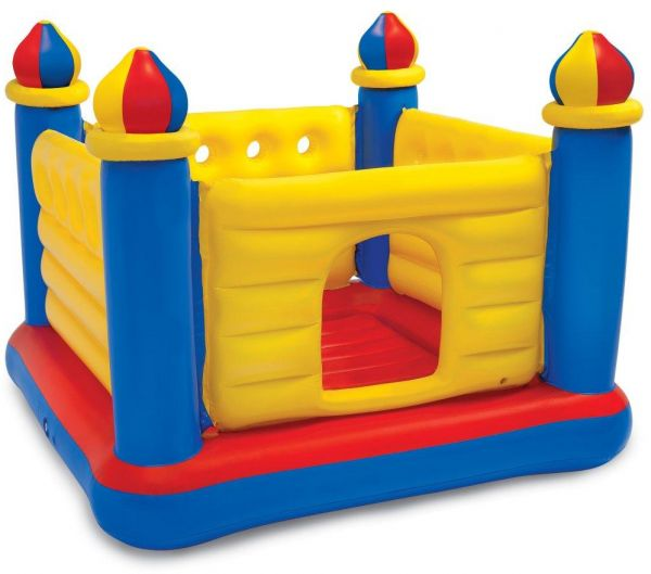 INTEX INFLATABLE JUMP-O-LENE CASTLE BOUNCER BALL PIT PLAYHOUSE TOY