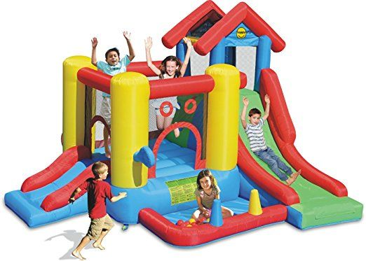 Happy Hop Inflatable Bouncer, Ages 3 Years and Above - 9019