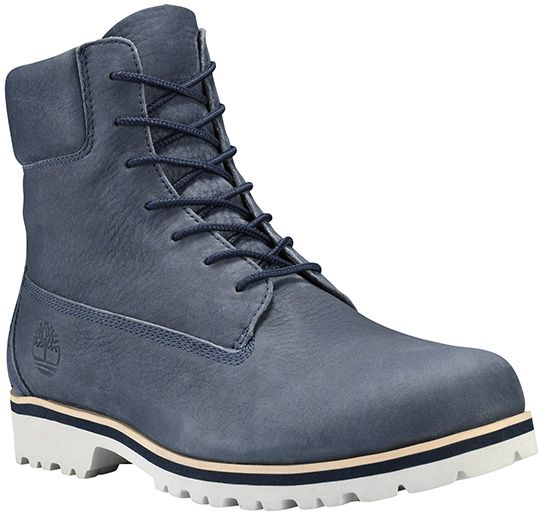 Timberland Chilmark 6 Inch Lace Up Boots for Men - Blue