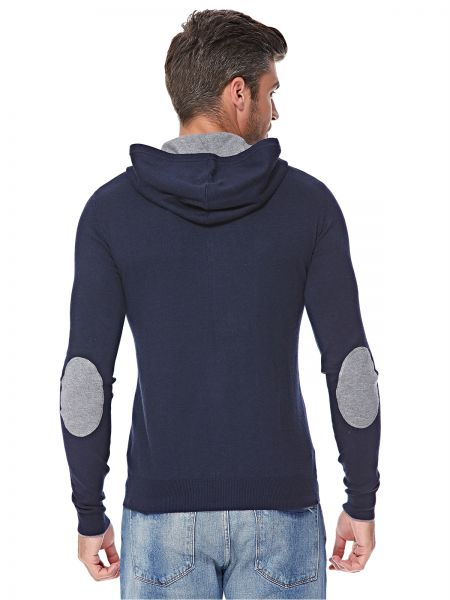 U.S. Polo Assn. Zip Up Hoodie for Men - Navy Blue