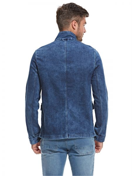 French Connection Jeans Jacket For Men, Blue
