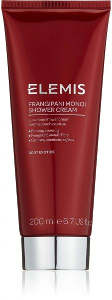 ELEMIS Frangipani Monoi Shower Cream - Luxurious Shower Cream, 6.7 fl. oz.