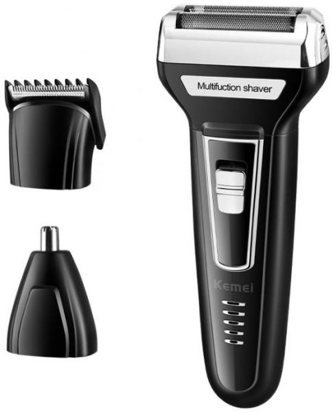 3 in 1 Electric Razor Men Beard Trimmer Rechargeable Waterproof Shaver Professional Cordless Hair Clippers Nose Hair Trimmer Grooming Set