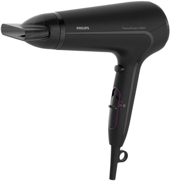 Philips HP8230 Thermo Protect Hair Dryer 2100 watt with Cool Shot , High Gloss & Mat Black