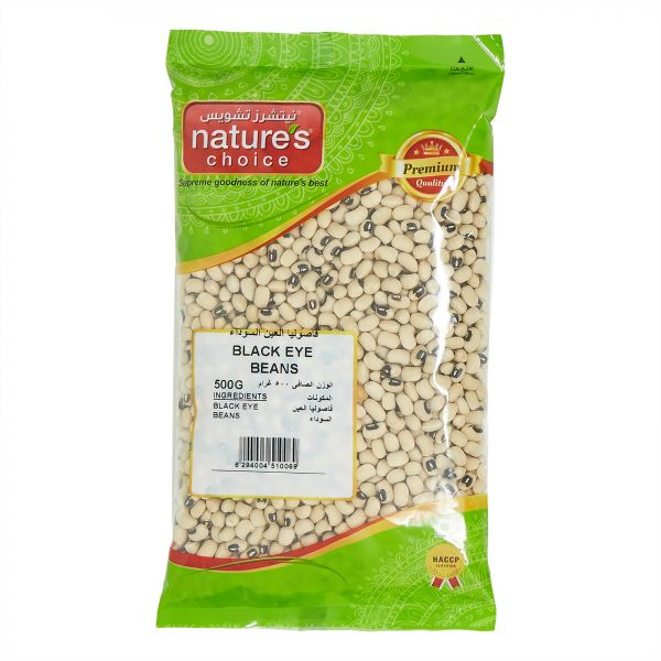Natures Choice Black Eye Beans - 500 gm