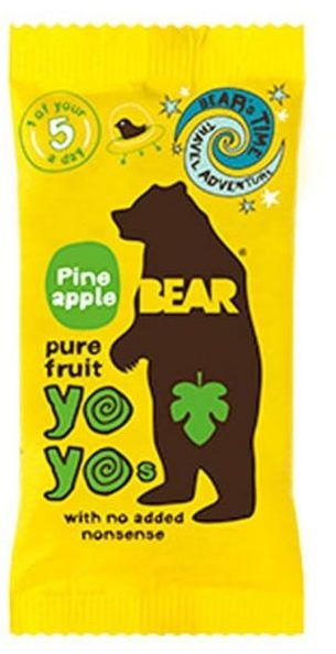 Bear YoYo Pineapple Fruit Roll - 20 gm