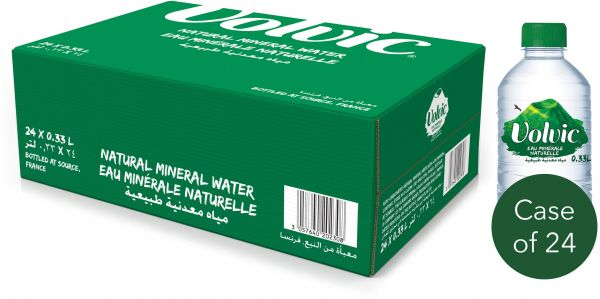 Volvic Natural Mineral Water 24 x 330ml
