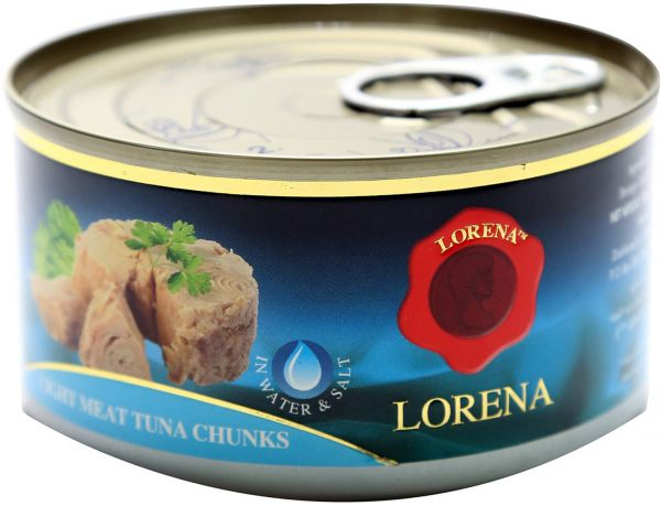 Lorena Light Meat Tuna Chunk in Water, 185g