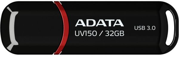 ADATA USA DashDrive UV150 USB 3.0 Flash Drive (AUV150-8G-RRD) 32 GB black AUV150-32G-RBK