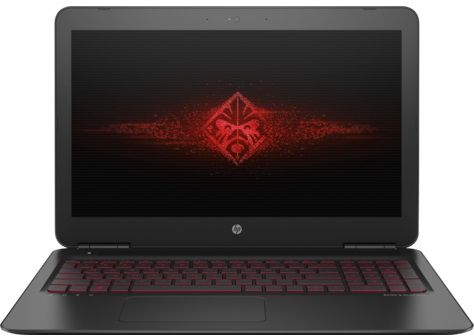 HP OMEN 15-ax001ne Gaming Laptop - Intel Core i7-6700, 15.6-Inch, 1TB + 128GB, 12GB, 4GB VGA, Win 10, Black