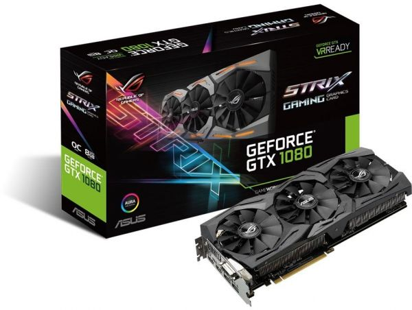 Asus STRIX-GTX1080-8G Gaming Graphic Card