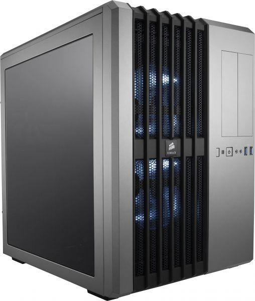 CORSAIR CARBIDE AIR 540 ATX Cube Case, High-Airflow - Steel Silver