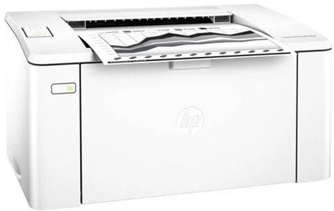 HP LaserJet Pro M102w Black and White Laser Printer White - G3Q35A