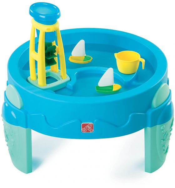 Step2 Water Wheel Play Table, Blue 753800