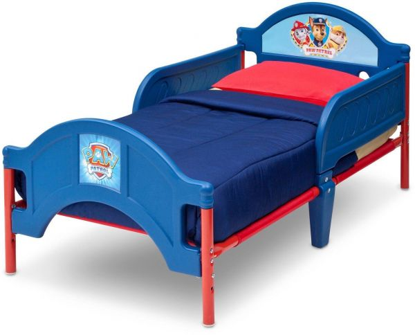 Delta Children Paw Patrol Plastic Toddler Bed, Multi color-( BB86945PW)