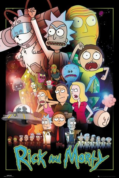 GB EYE RICK AND MORTY Wars