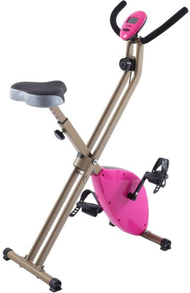 Exercise bike and slimming, Pink, 917D