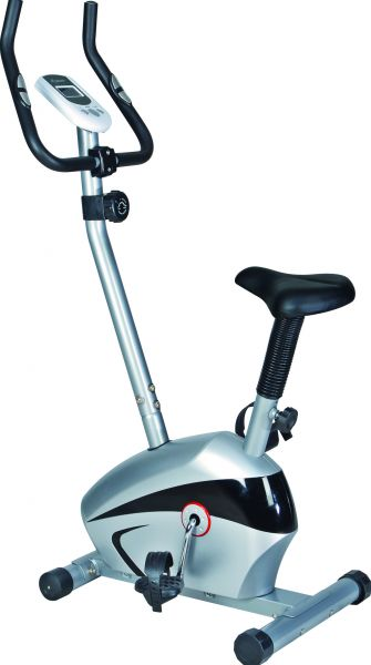 ​SKYLAND Magnetic Exercise Bike - Silver and Black, EM-1527​