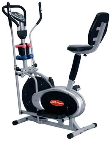 e4531b25f848d Life Power Orbitrac With Dumbell and Back Support - SG4050B