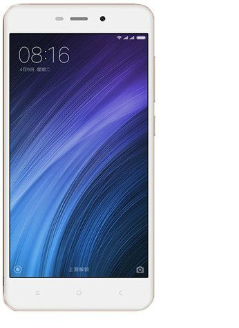 Xiaomi Redmi 4A Dual Sim - 32GB, 2GB RAM, 4G LTE, Gold - International Version