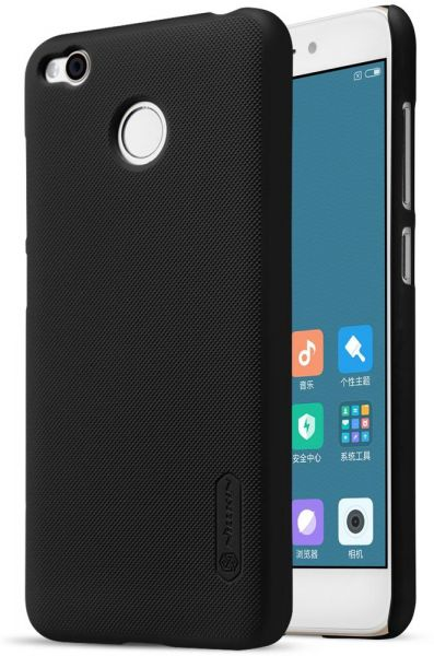 XIAOMI RedMi 4X Nillkin Super Frosted Shield Back Case (Black Color)