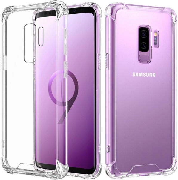 Samsung Galaxy S9 Plus Crystal Clear Anti- Burst Shockproof Case Cover