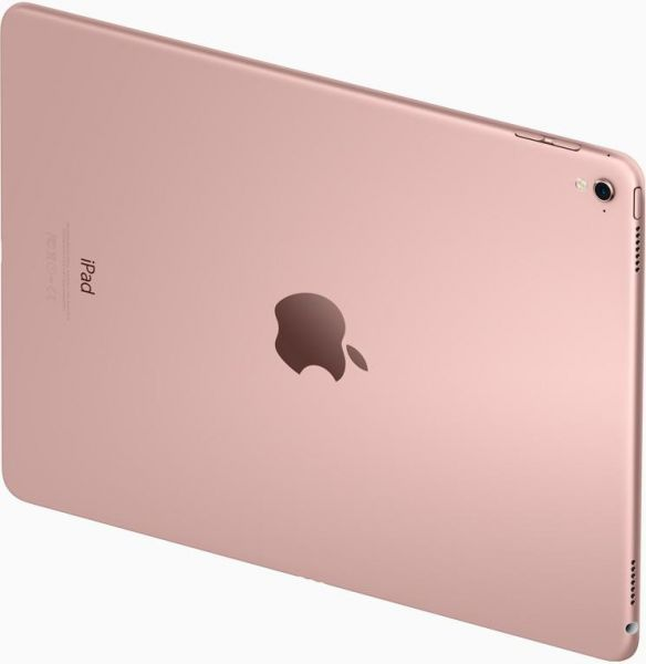 Apple iPad Pro with Facetime Tablet - 9.7 Inch, 256GB, 4G LTE, Rose Gold - Certified Pre Owned