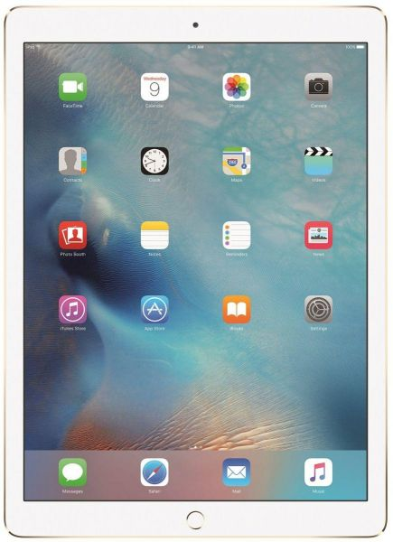 Apple iPad Pro with Facetime Tablet - 12.9 Inch, 256GB, 4G LTE, Gold