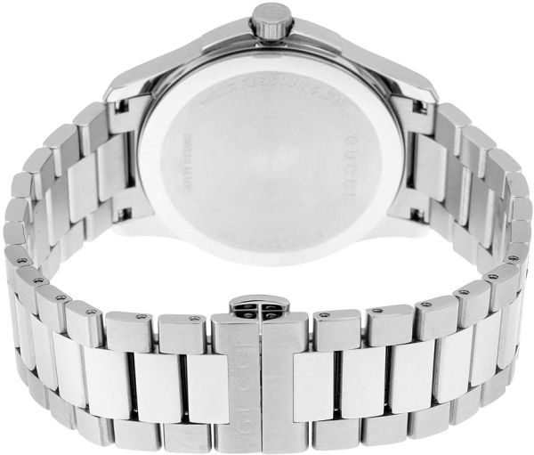 Gucci Women`s Blue Dial Stainless Steel Band Watch - YA126440
