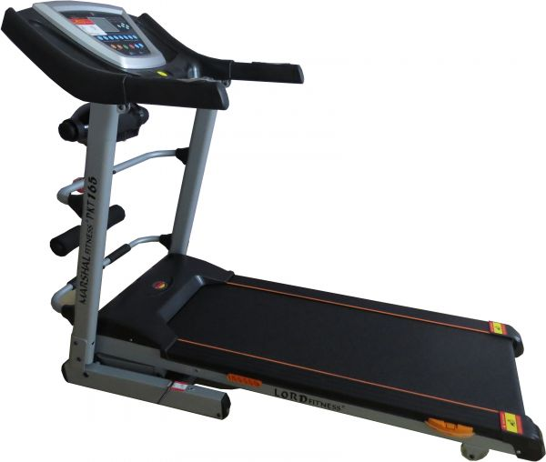 Marshal Fitness Auto Incline Treadmill with Shock Absorption System & Massager - Pkt-165-4